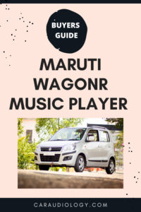 touch screen stereo for wagonr