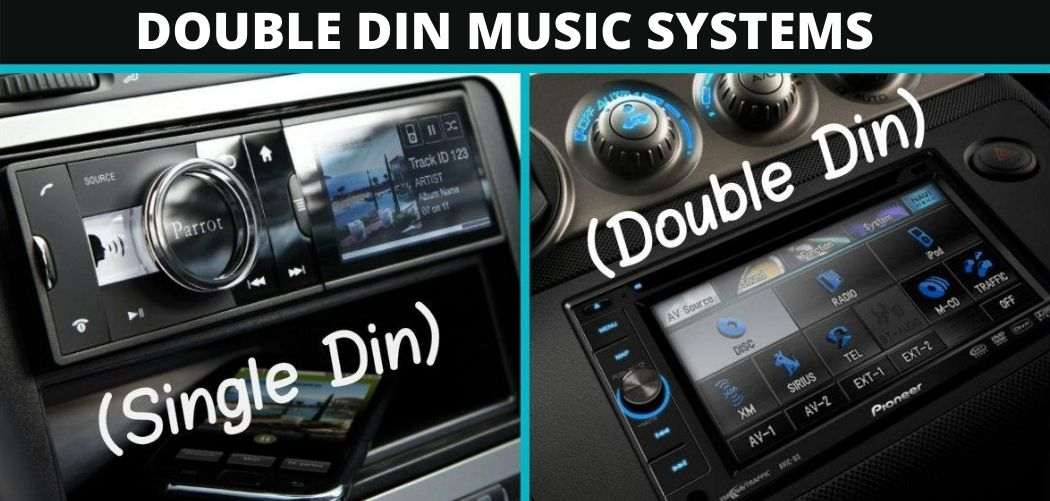 Double Din Music System
