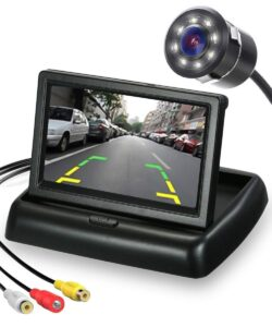 Car Music System with Navigation and Reverse Camera